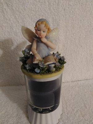 Collectible 'Fairy' Candle Jar Topper - 2pc *NEW* for Sale in Simi Valley, CA