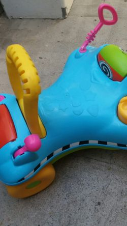 Baby push toy and rider toy Thumbnail