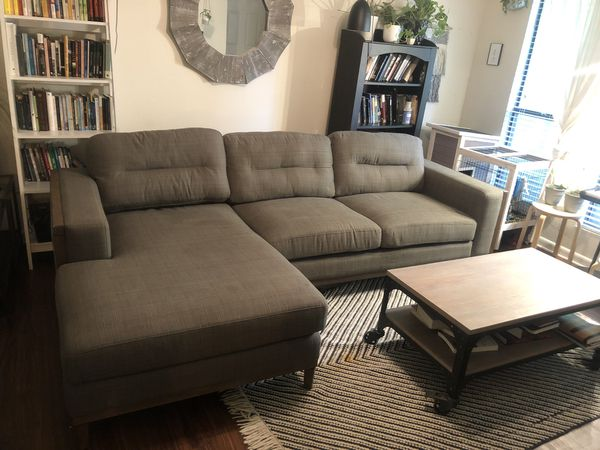 Wondrous Sofia Vergara Gray Sectional Couch For Sale In Chapel Hill Beatyapartments Chair Design Images Beatyapartmentscom