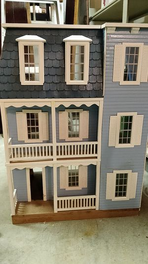 Doll house + furniture + accessories for Sale in Alexandria, VA