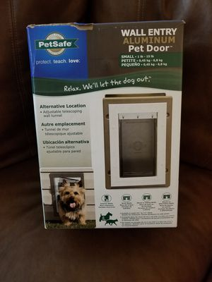 Petsafe Wall Entry Aluminum Telescoping Pet Door for Sale in Scottsdale, AZ
