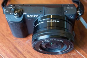 Sony alpha 5100 and 55-210 mm lens for Sale in Chicago, IL