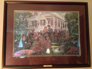Magnolia Morning by Mort Kunstler —Double signed by Artist #375/1150 for Sale in Manassas, VA