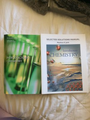 Chemistry book with solutions and access code for Sale in Santa Monica, CA