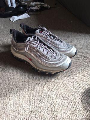 Nike airmax 97 OG QS silver size 9 for Sale in Philadelphia, PA
