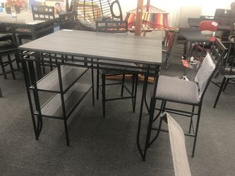NEW Counter Height Breakfast / Dining Set Thumbnail