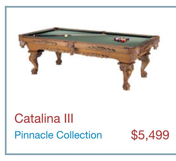Connelly Catalina Foot Pool Table Billiard Table For Sale In - Connelly catalina pool table
