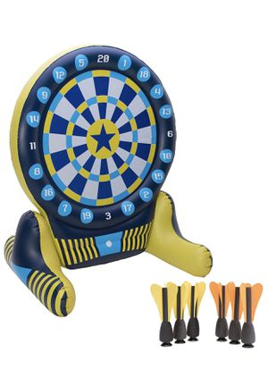 Giant Inflatable Dartboard - Soft Tip Darts with Floating Bullseye for Sale in Seattle, WA