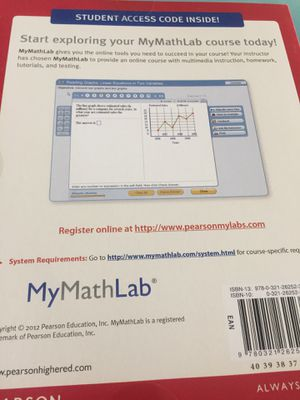 MyMathLab access code for Sale in Cleveland, OH