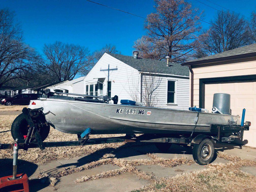 16 Footer John boat