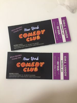 NEW YORK COMEDY CLUB TICKETS for Sale in Queens, NY