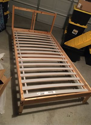 Photo Ikea Twin Bed Frame - MAKE ME AN OFFER!!!