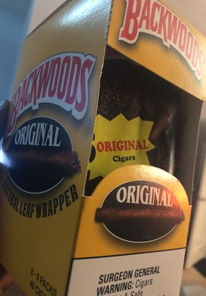 Box of backwoods originals for Sale in Silver Spring, MD