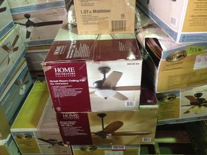 Greeters collection 60 inch McFarland great room ceiling fan for Sale in Phoenix, AZ