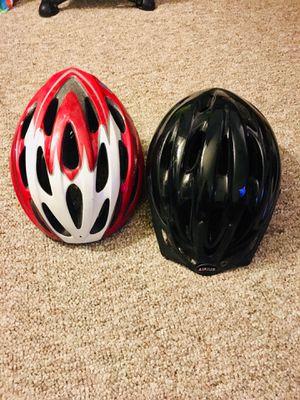 Bike helmets -$10 each or $15 both for Sale in Washington, DC