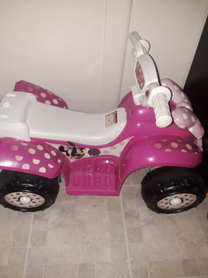 Minnie Mouse Electric 4 Wheeler for Sale in Baltimore, MD