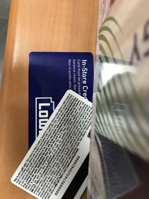 Credit store card with 350$ balance offer me for Sale in Alexandria, VA