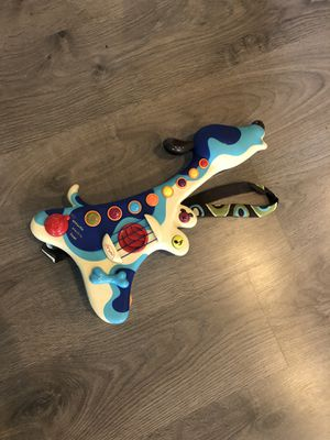 Toddler kids B.woofer Hound Dog Guitar for Sale in Apex, NC