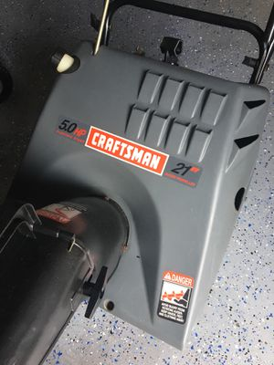 Craftsman Snow Er For In Streamwood Il