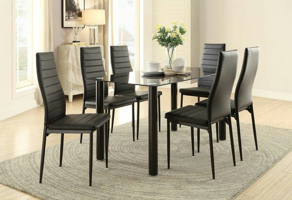 BRAND NEW PCS DINING SET CLEARANCE SALE Furniture In Kissimmee - Dining chairs and table clearance sale