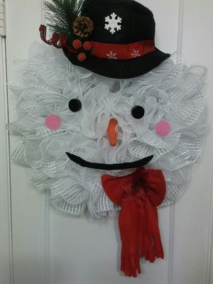 Snowman wreath for Sale in Dundalk, MD
