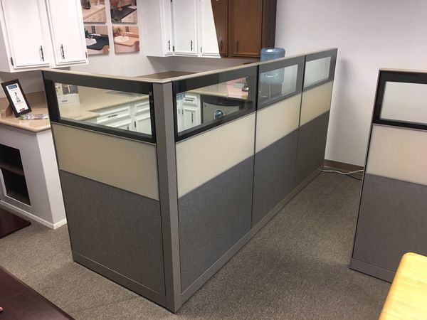 Swell 12 Cubicles By Allsteel 6 All Window Panels For Sale In North Bend Wa Offerup Home Interior And Landscaping Mentranervesignezvosmurscom