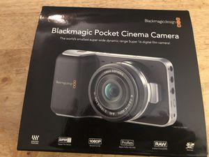 Blackmagic Pocket Cinema Camera Shoots Raw for Sale in Woodlawn, MD