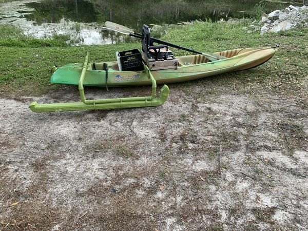 Wilderness system Paradise 13' kayak with pontoons for Sale in Green Cove  Springs, FL - OfferUp