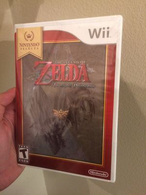 SEALED Legend of Zelda: Twilight Princess Nintendo Selects Game for Wii for Sale in Everett, WA