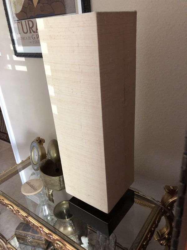 Tall Crate Barrel 3 Touch Lamp With Bronze Base For Sale In Austin Tx Offerup