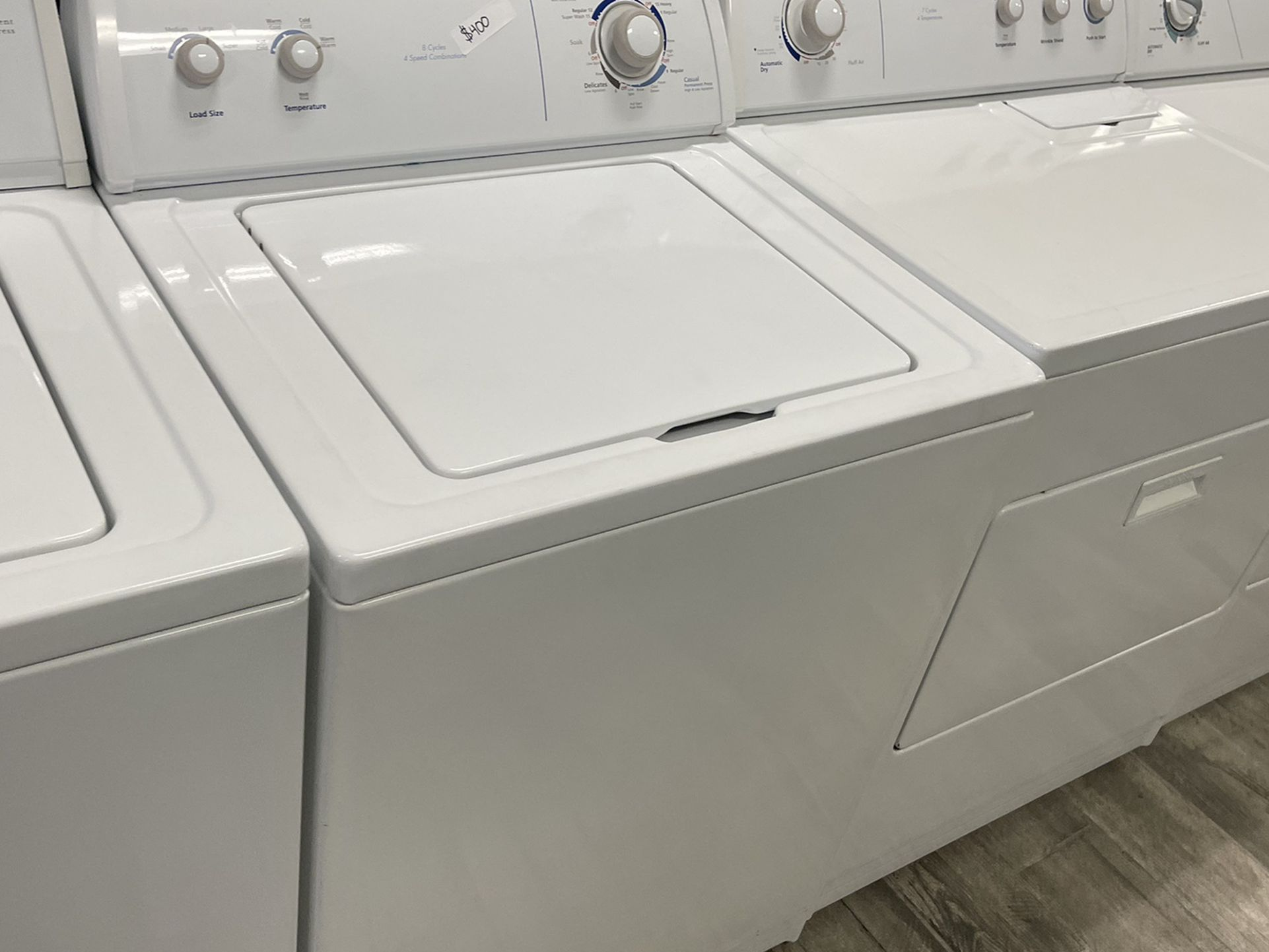 Whirlpool Washer Dryer Set Electric