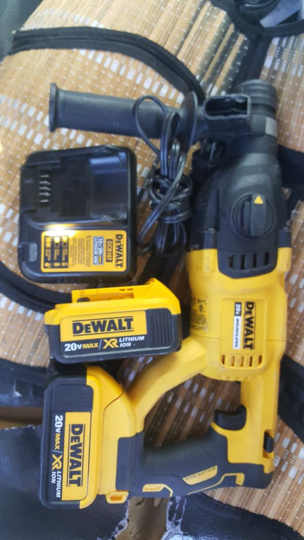 DEWALT 20v SDS BRUSHLESS JACKHAMMER for Sale in Oakland, CA - OfferUp