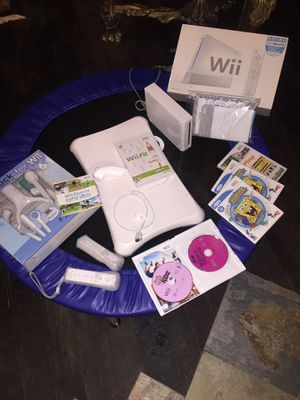 Wii console with games, wii sport and wii Board. for Sale in San Diego, CA