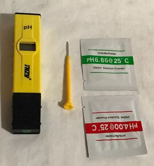 PH Pen Tester,THZY High Accuracy Pocket Size PH Meter with ATC (Automatic Temper for Sale in Dublin, OH