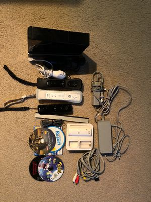 Wii console, accessories and games for Sale in San Francisco, CA