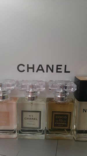 Lote de 4 perfumes chanel for Sale in Silver Spring, MD