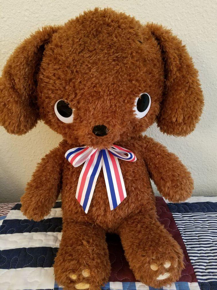 Brand new puppy plush