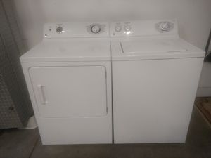 Photo GE washer and dryer set
