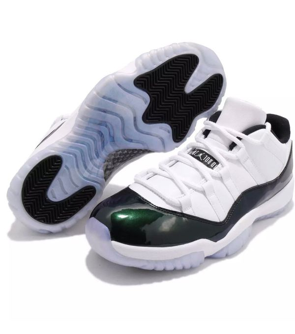 ed30615f73f DS new nike air jordan retro 11 xi low white emerald supreme cool grey retro  xi low for Sale in Fremont, CA - OfferUp