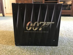 James Bond Ultimate Collector's Set DVD for Sale in Falls Church, VA