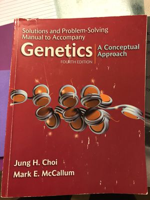 Genetics A Conceptual Approach for Sale in Fairfax, VA