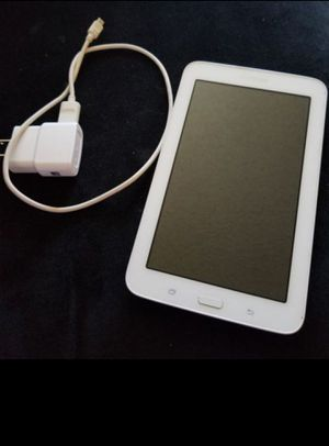 """Samsung Galaxy Tab E Lite Wi-Fi 8 GB White 7"""" Got Wet does not turn on Fix it or for parts for Sale in Anaheim, CA"""
