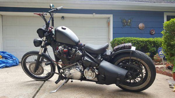 01 Yamaha Roadstar Xv1600 Bobber For Sale In Magnolia TX