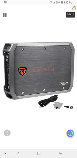"Rockville W12K6D2 V2 12"" 2400 Watt Car Audio Subwoofer+Mono Amplifier for Sale in Alexandria, VA"