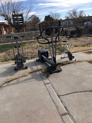 3 piece gym equipment for Sale in El Paso, TX