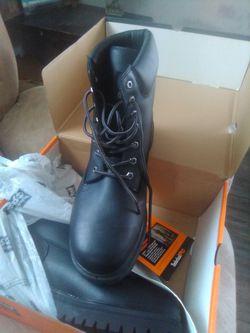 Timberland work boots! Thumbnail