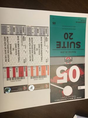 Ohio state men's basketball tickets for Sale in Columbus, OH