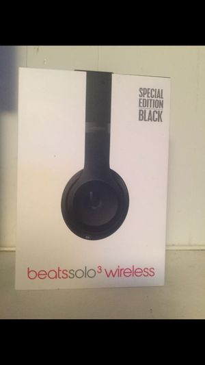 Used beats solo 3 wireless for Sale in Woodbridge, VA