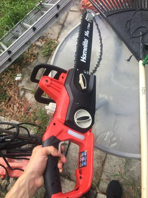 Home lite 14 inch chainsaw electric for Sale in Orlando, FL