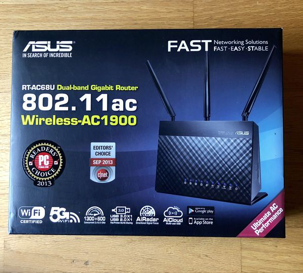 Asus RT-AC68u wi-fi router for Sale in Palo Alto, CA - OfferUp